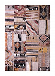 Matta 133 x 190 cm (wilton) - Tibet Patch (multi)