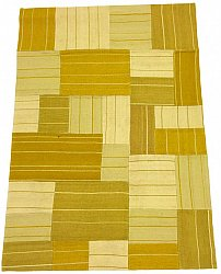 Patchwork-matta - Superior new wool Patchwork (gul)